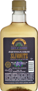 spirit of solomon slivovitz brandy
